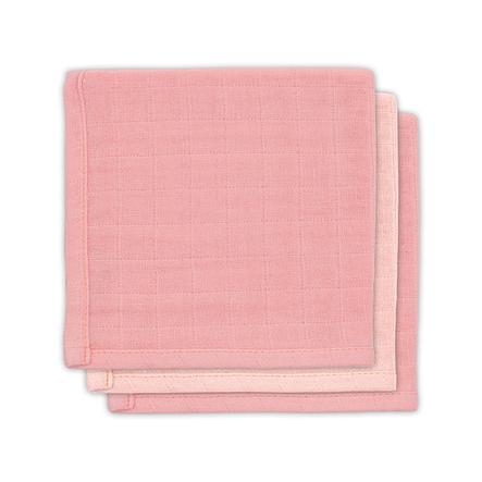 jollein Bambusowe pieluszki 3 szt.  pale pink