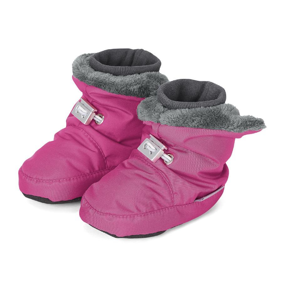 Sterntaler dětská obuv microfleece magenta