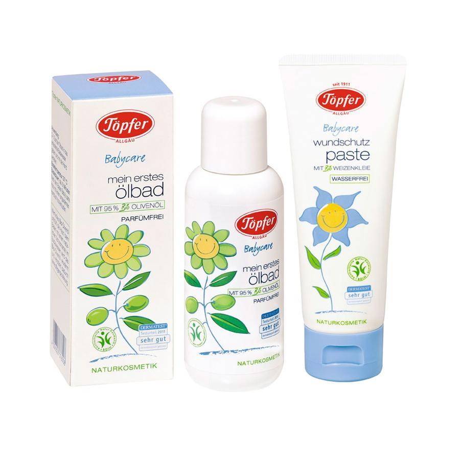 Töpfer Babycare Wundschutzpaste und Ölbad