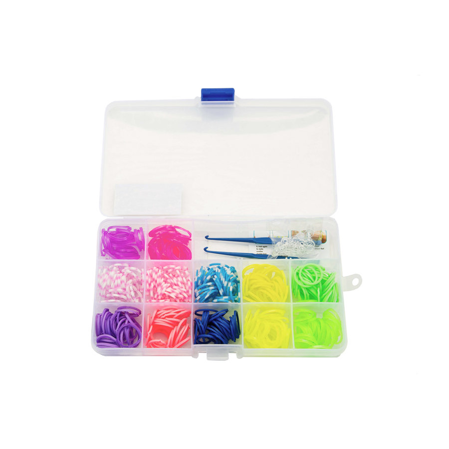 GLOW2B Loom´s Box for Girls 360 stuks