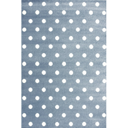 LIVONE lek og barneteppe Kids Love Rugs Circle blue / white, 100 x 150 cm