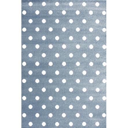 LIVONE play a dětský koberec Kids Love Rugs Circle blue / white, 120 x 170 cm