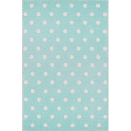 Juego LIVONE y alfombra infantil Kids Love Rugs Circle menta/blanco, 100 x 150 c