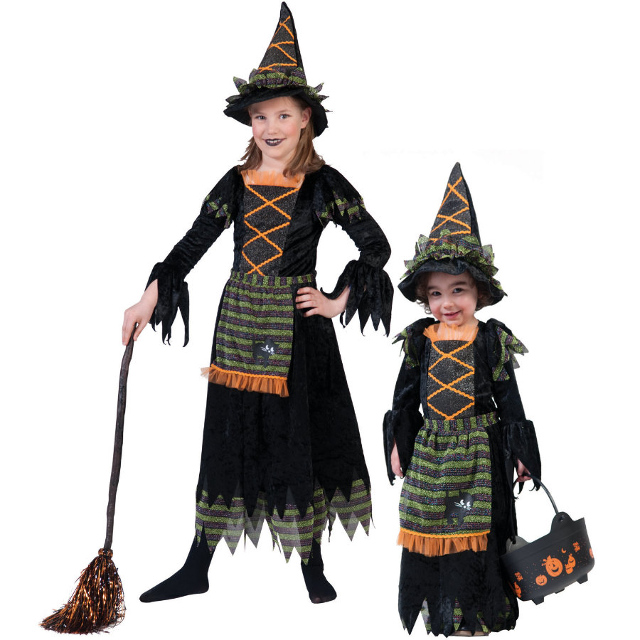 FUNNY FASHION Carnival Costume Witch Lya