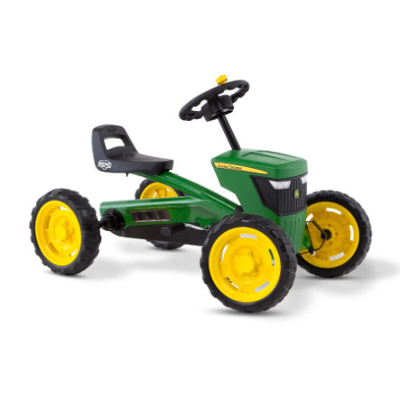 BERG Kart à pédales enfant tracteur Buzzy John Deere