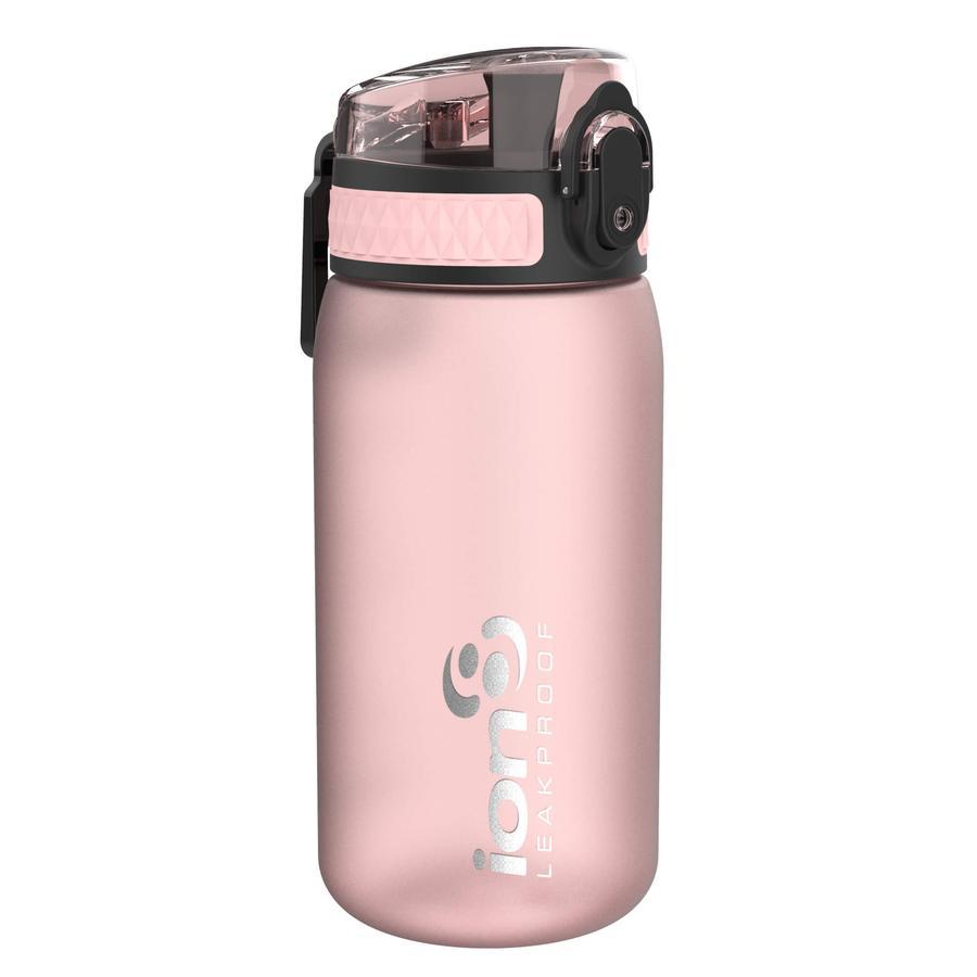 ion 8 auslaufsichere Kindertrinkflasche 350 ml rosa