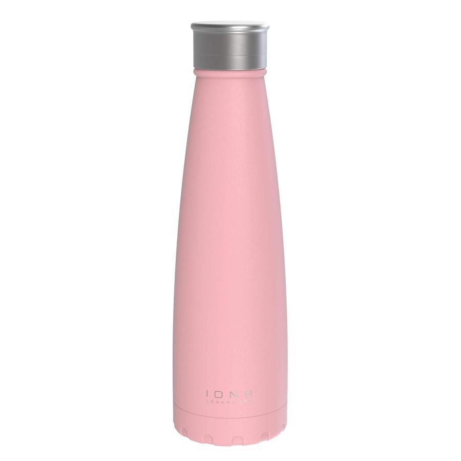 ion 8 auslaufsichere Vakuum Isolierflasche 450 ml rosa