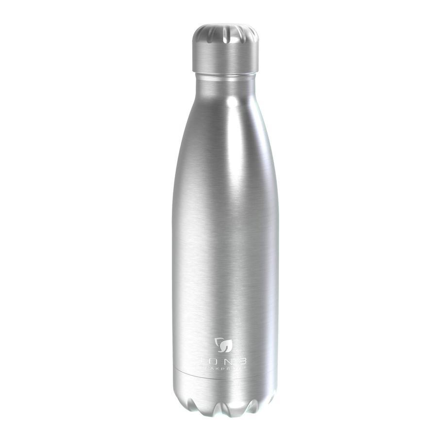 ionen 8 lekvrije thermosfles 500 ml zilver