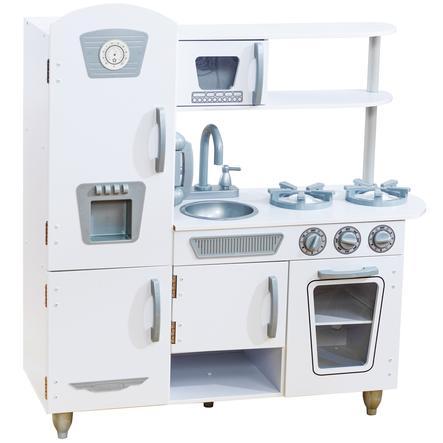 Kidkraft® Cuisine enfant vintage blanche, bois 53208