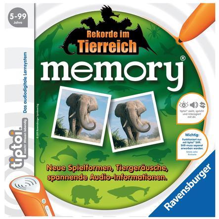RAVENSBURGER tiptoi memory Rekorde im Tierreich 00519