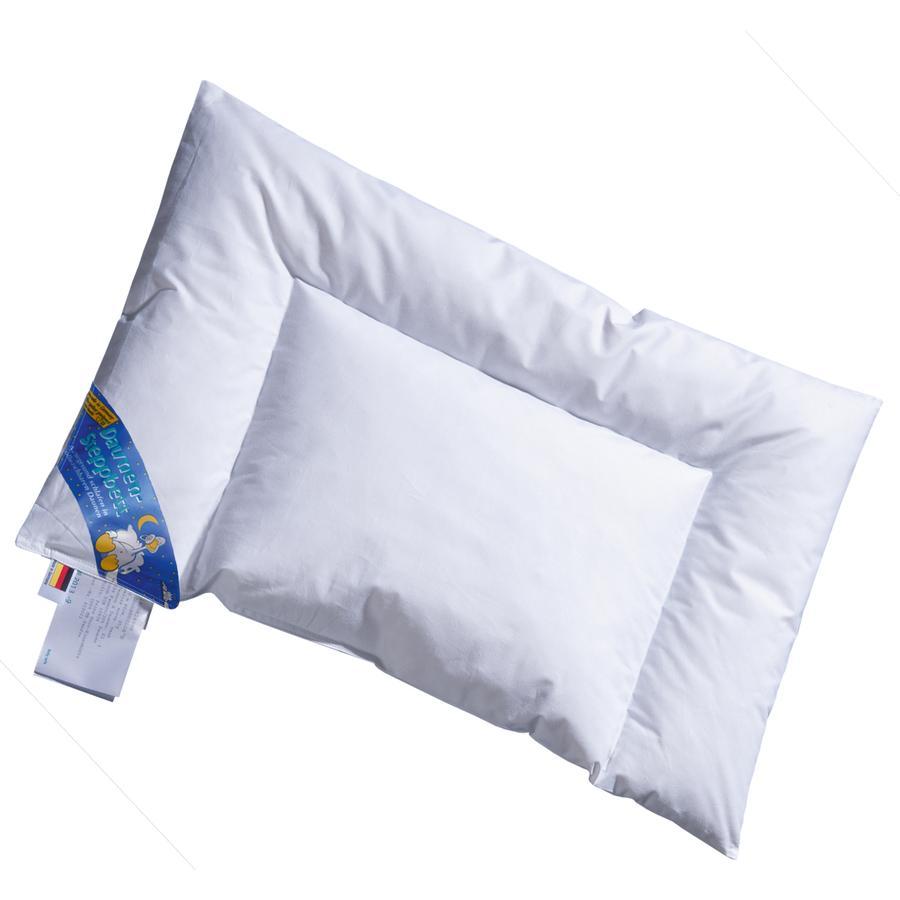 Almohada infantil acolchada ARO® 35 x 40 cm 100 % hacia abajo