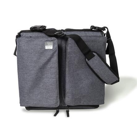 Doomoo basics Baby Travel-, Reis- en draagtas grijs