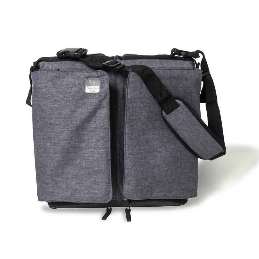 Doomoo Baby Travel-, cestovní a přenosná tašky basic šedivá