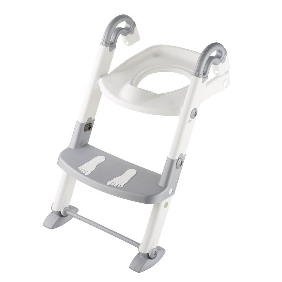 ROTHO Babydesign Toilettrainer Kidskit 3-in-1 zilvergrijs, wit