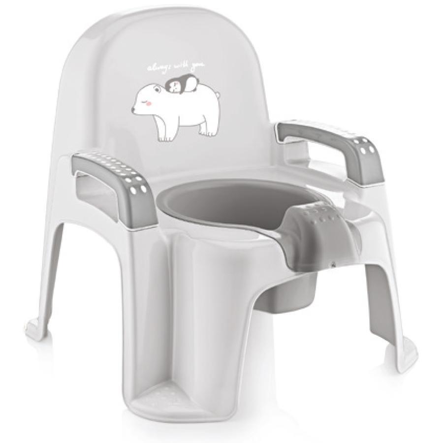 babyJem Baby Toilet Trainer - Pottegrå