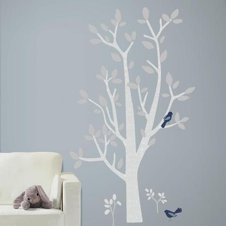 RoomMates Naklejka ścienna - Patina Vie Drzewo leśne