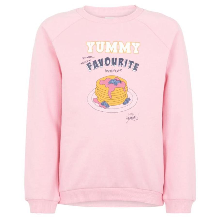 name it Girls Mikina NMFVENUS prism pink
