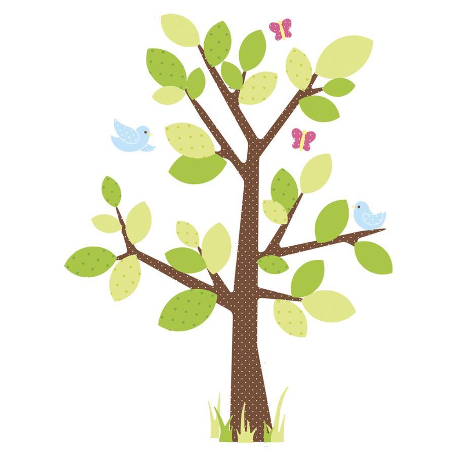 RoomMates Vægklistermærke - Børneagtigt træ