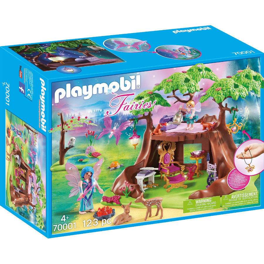 PLAYMOBIL® Fairies Waldfeenhaus 70001