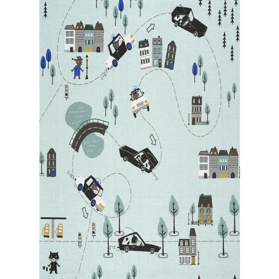 LIVONE play a dětský koberec Happy Rugs Love You Catch me if you can, mincovna / multi, 100 x 160 cm