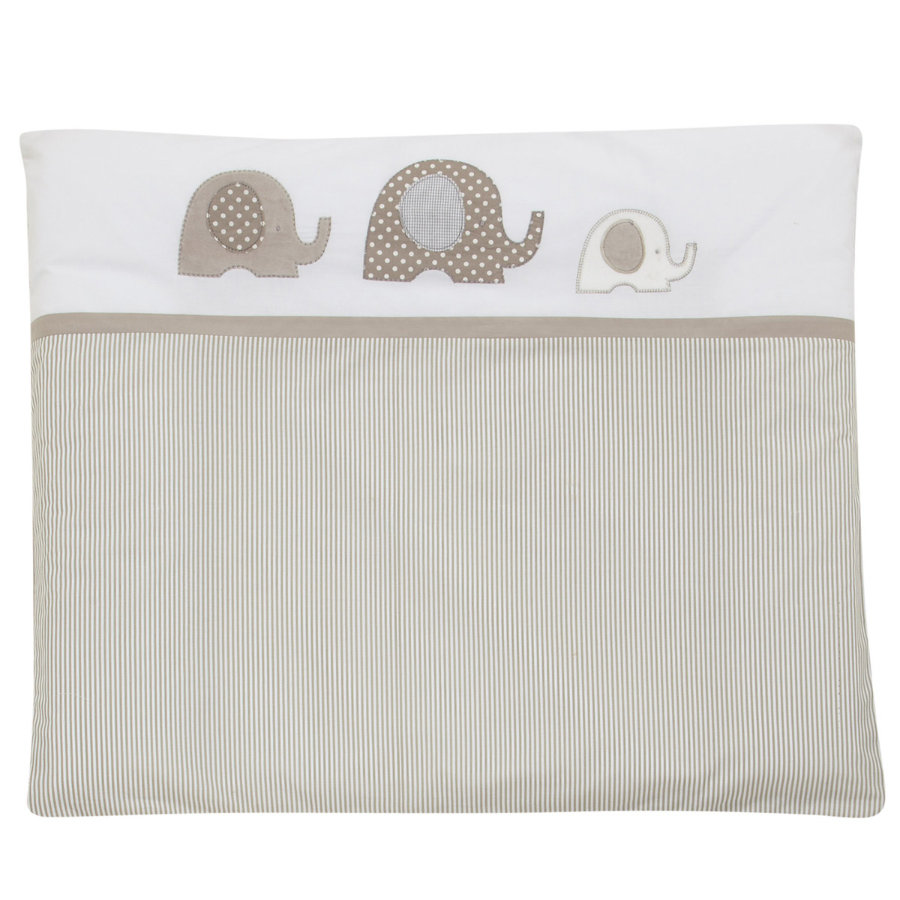 ALVI Change Mat and Cover Elephant, beige