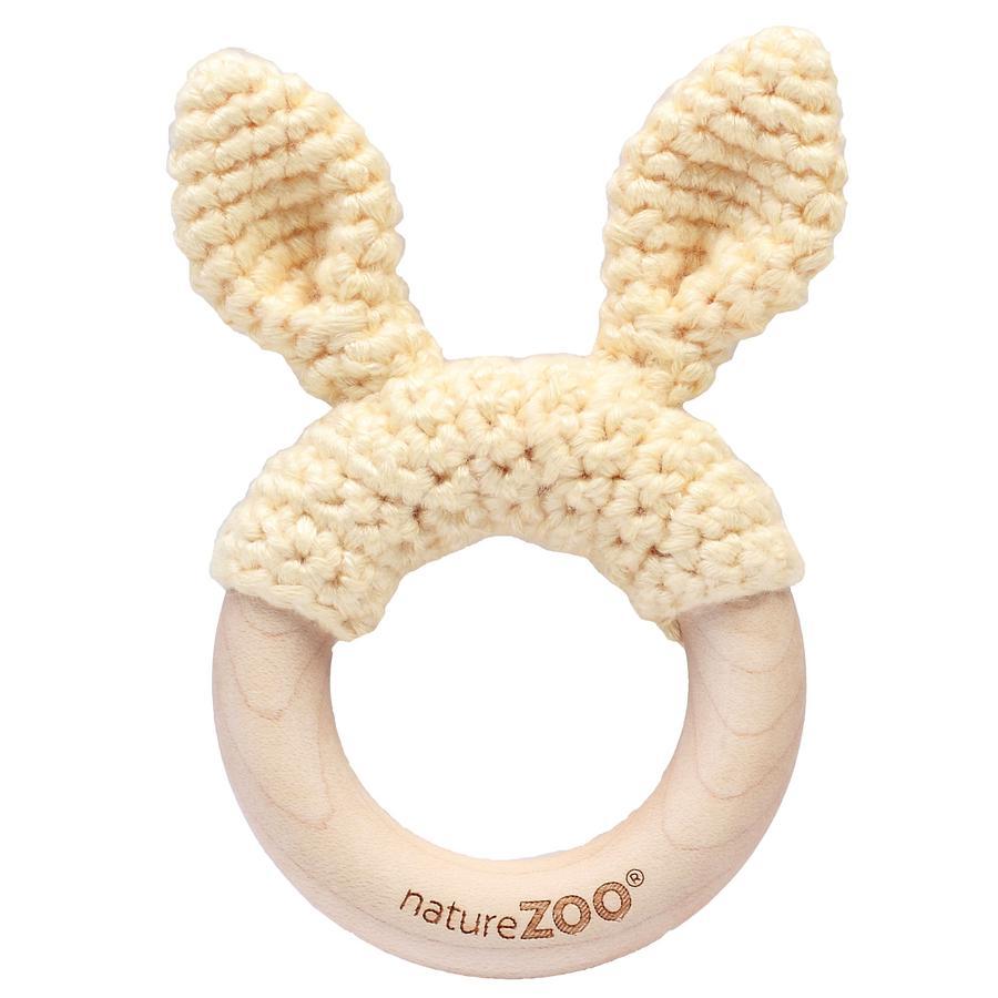natureZoo of Denmark Anneau de dentition, bois blanc crème