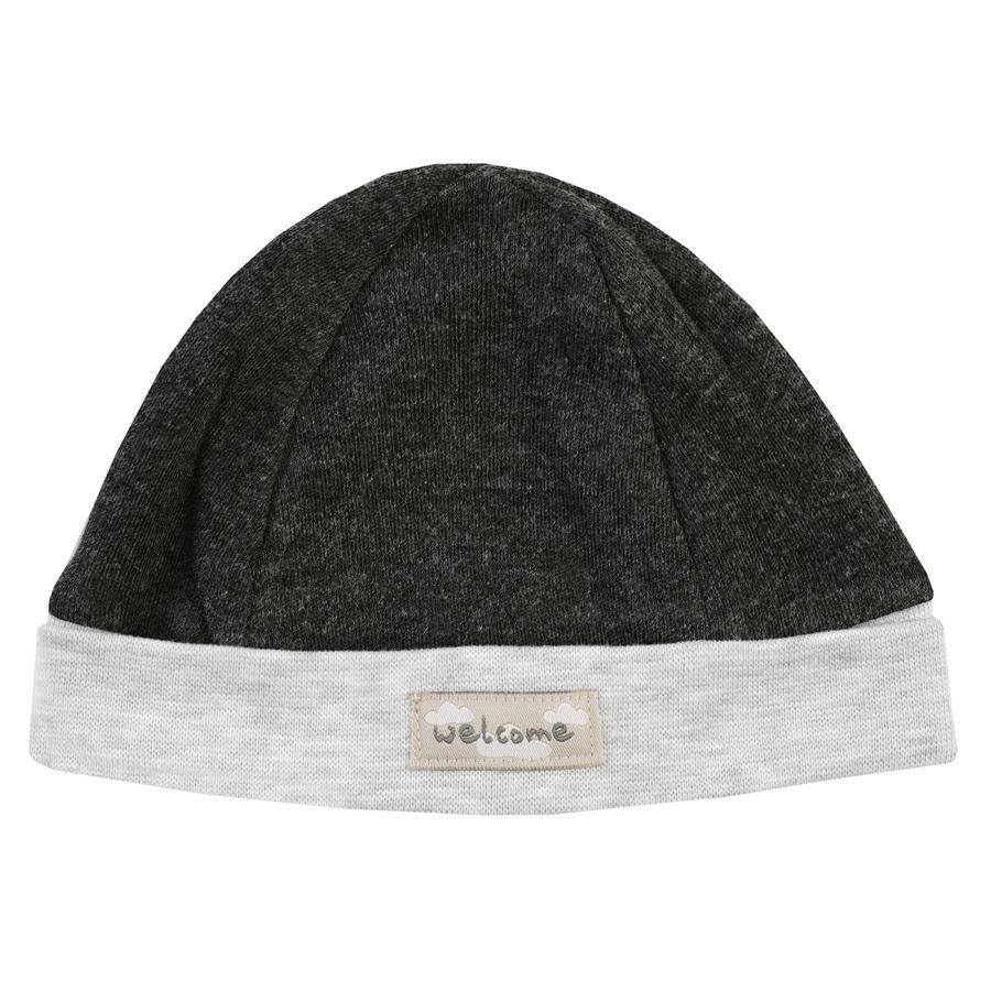 JACKY Cap Lama antracita gris claro