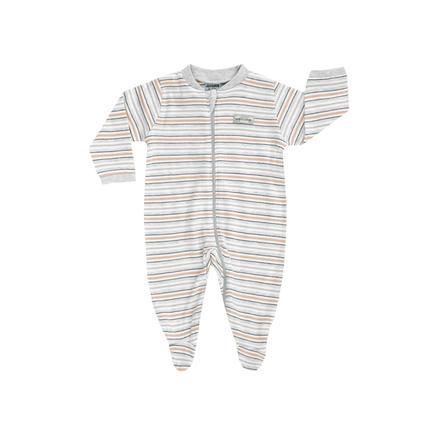 JACKY Lama pyjama 1-delig gestreept white