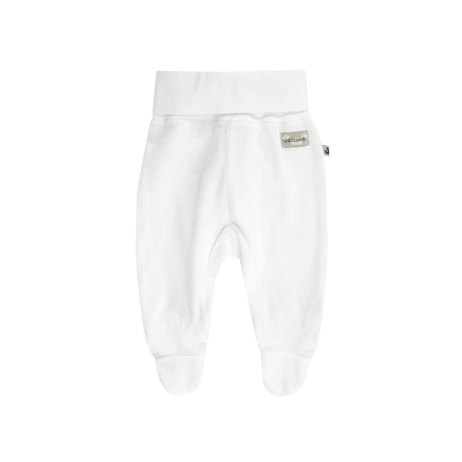 JACKY Lama pantaloni di velluto white