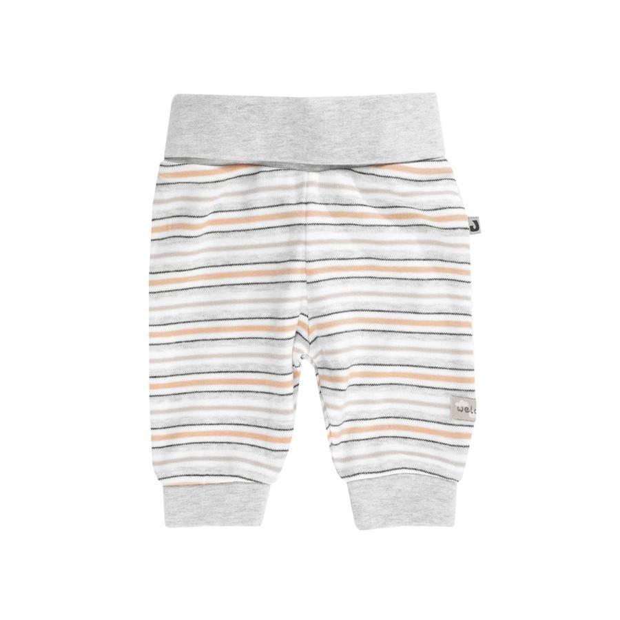 JACKY Pantalon de lama white bouclé