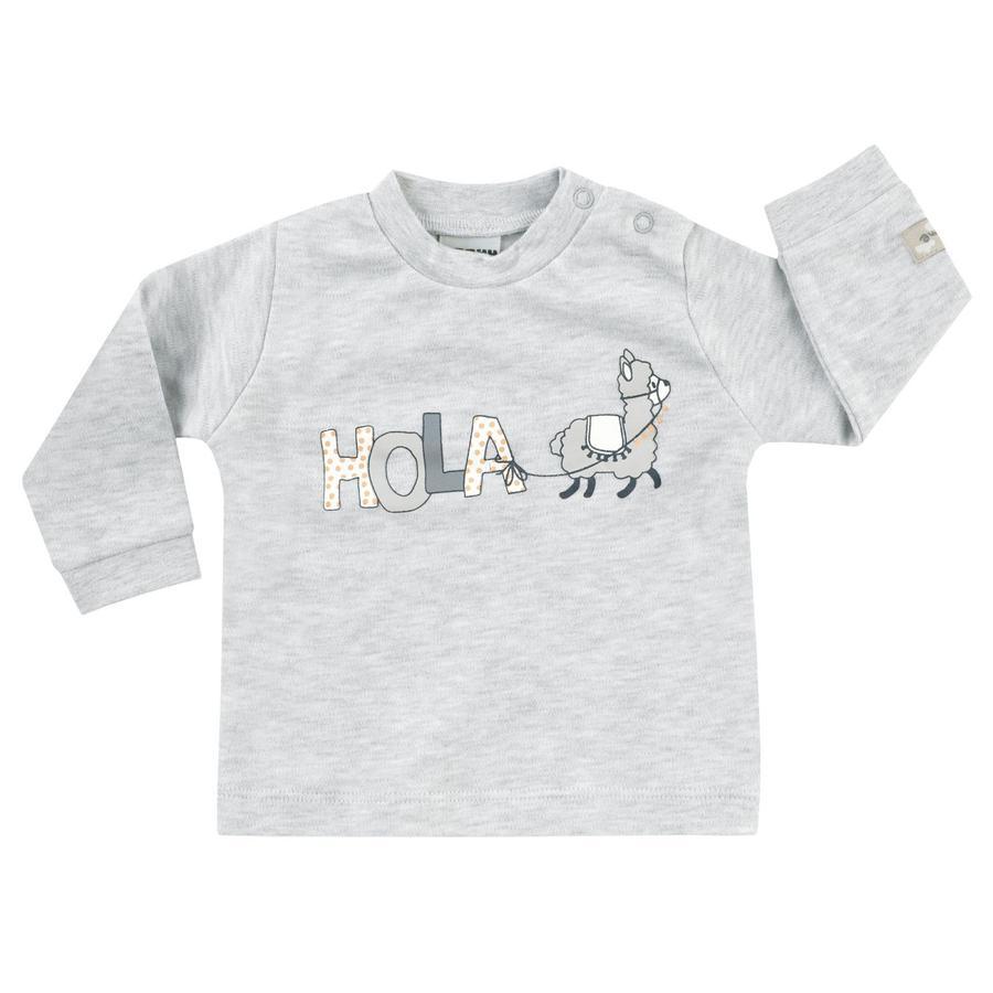 JACKY Lama Skjorta långärmad ljusgrå melange