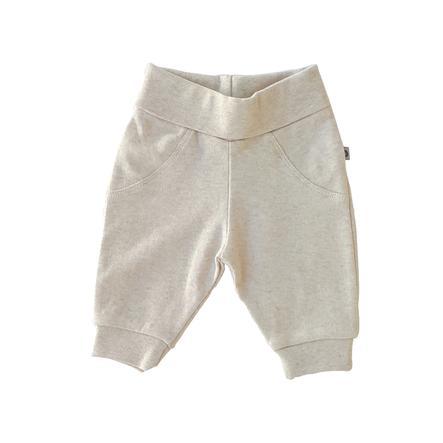 JACKY Pantalon de survêtement Cotton Beige-Melange bio