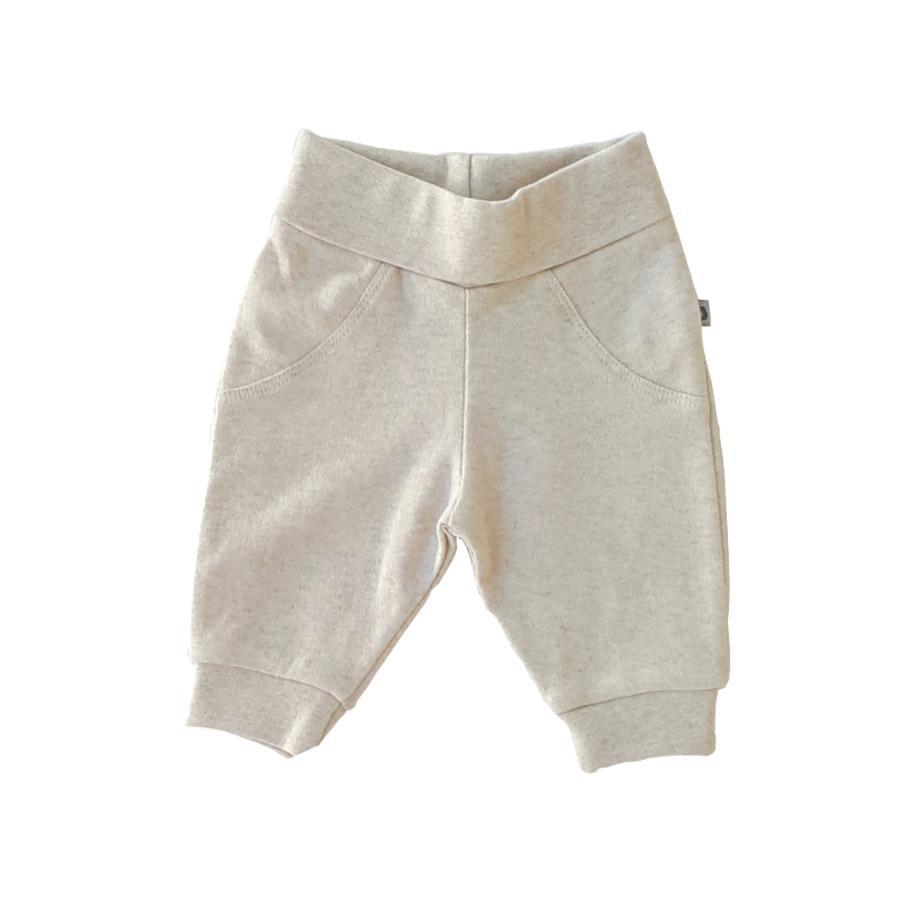 JACKY Jogginghose Organic Cotton beige-melange