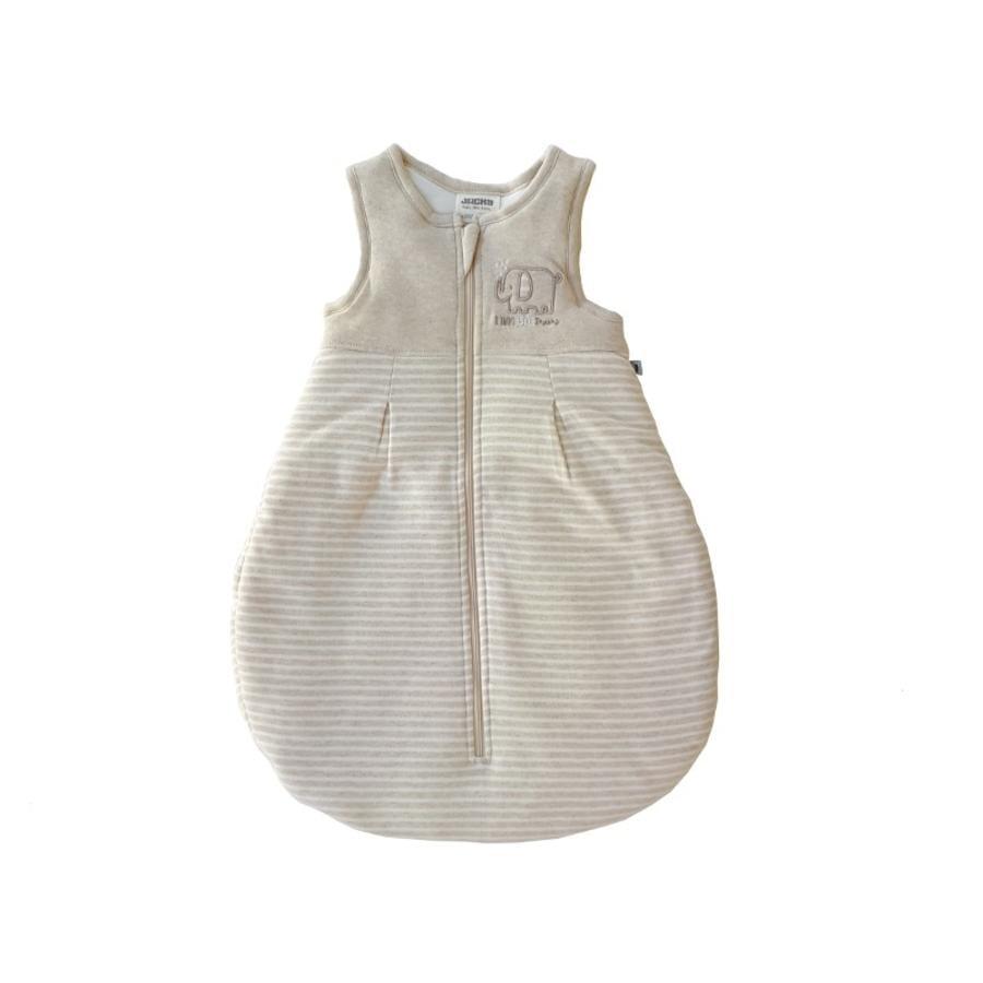 JACKY Sovsäck Ekologisk Cotton beige-melange