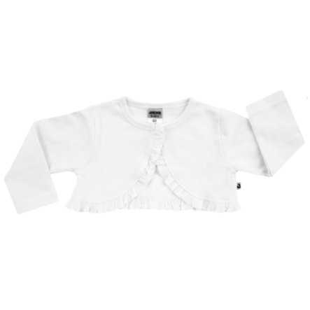 JACKY Lichaamsshirt korte mouw met afneembare vlinderdas wit/ marine