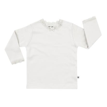 JACKY Onderjas met kanten kraag af white