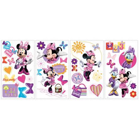 RoomMates Veggklistremerker - DISNEY Minnie og Daisy