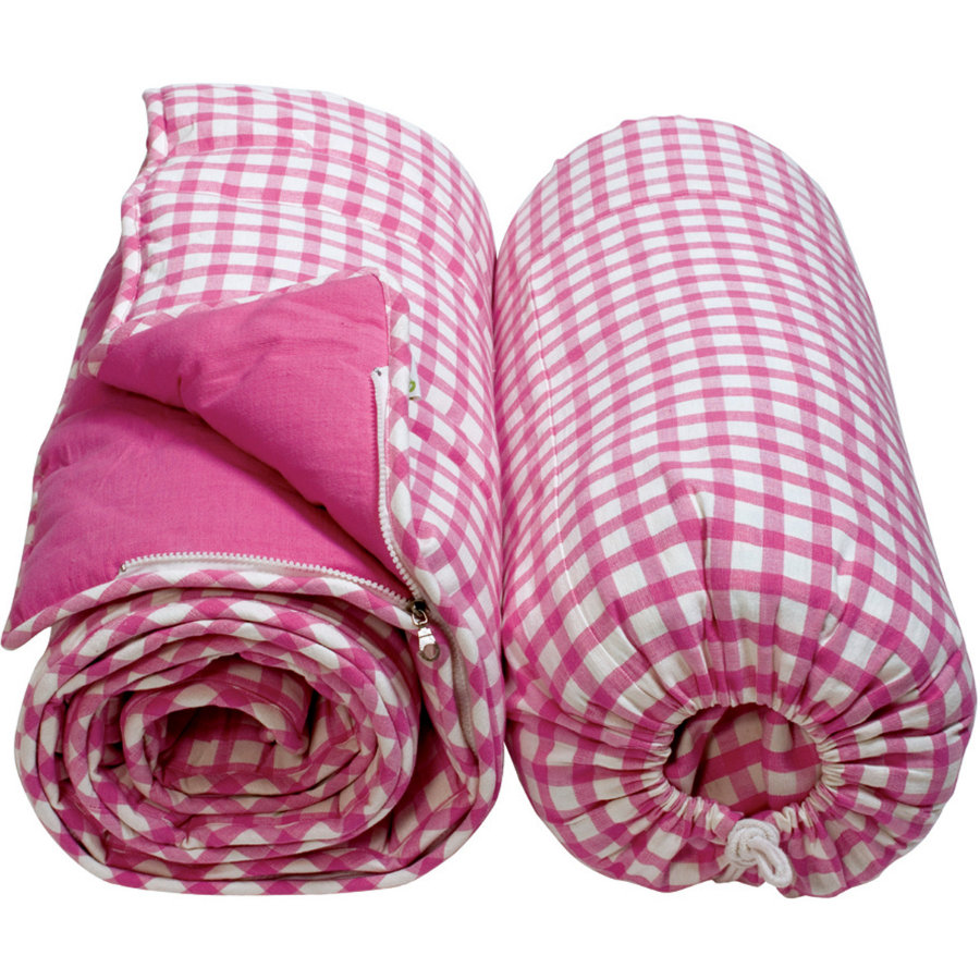 WIN GREEN Slaapzak - Pink Gingham