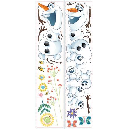 RoomMates® Autocollants Reine des neiges printemps d'Olaf Disney