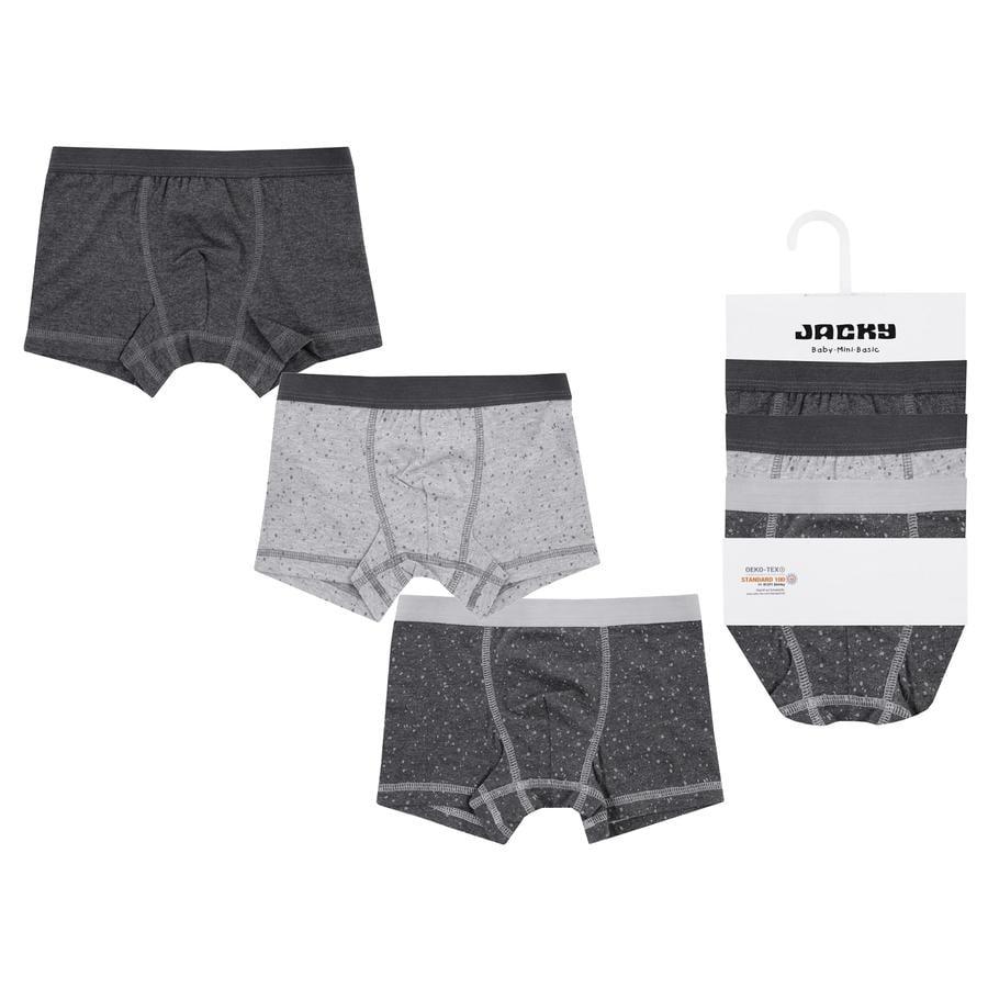 JACKY Unterwäsche 3er Boxer Panty Pack Boys