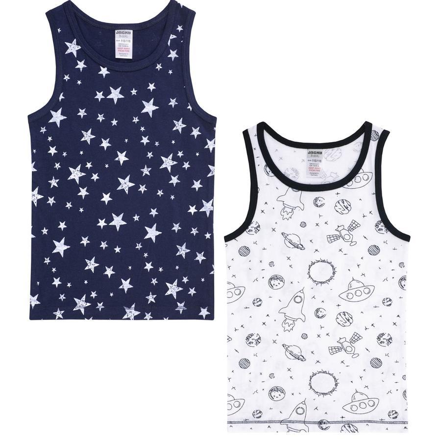 JACKY 2 balení spodního prádla pro chlapce