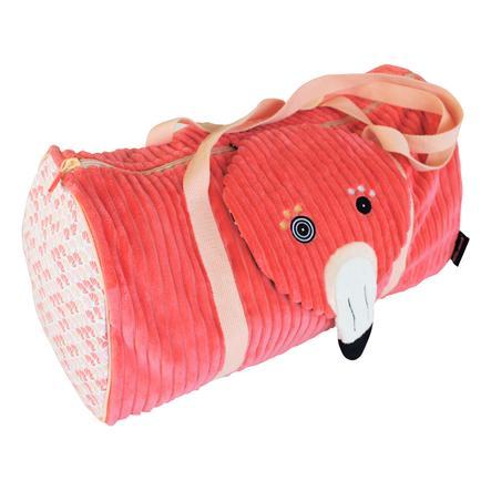 LES DEGLINGOS Rejsetaske Flamingoer
