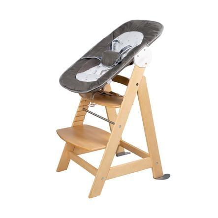 roba jídelní židlička se schůdky Born Up Set 2v1 Hvězdičky