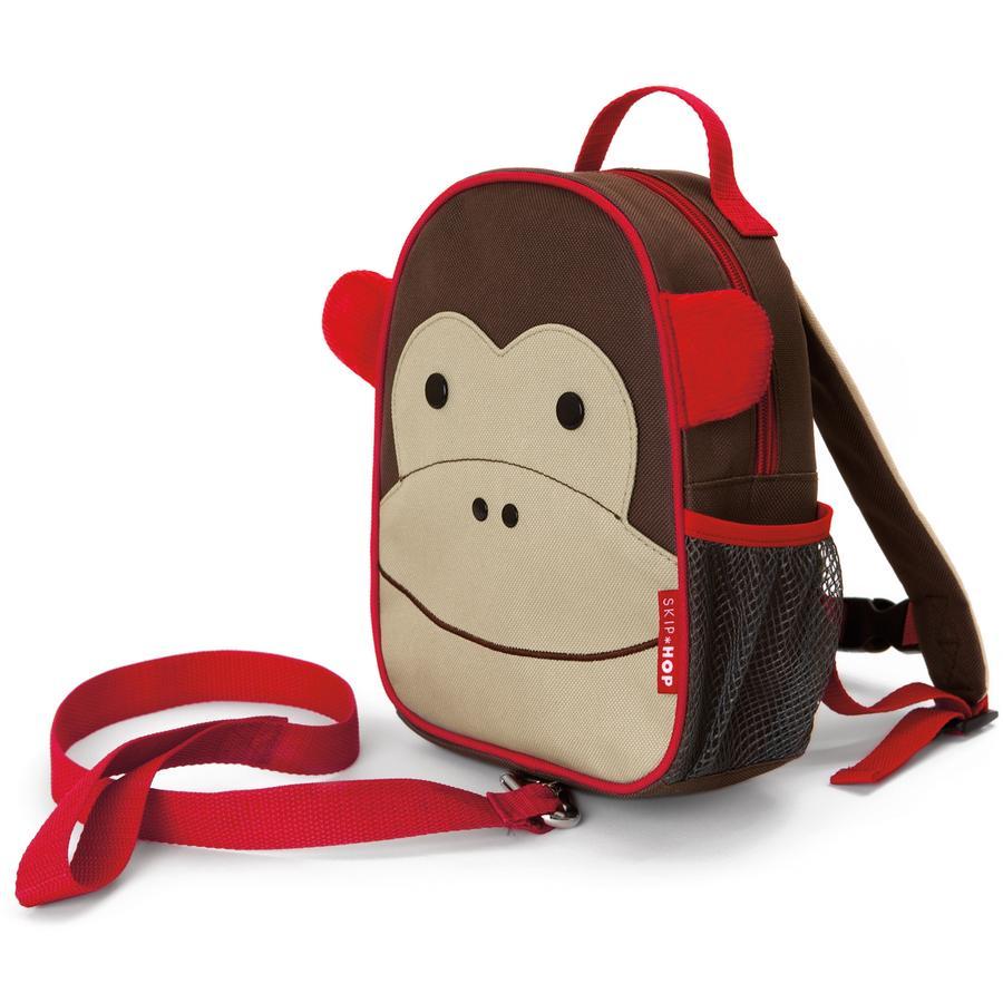 SKIP HOP Zoo batoh s vodítkovou opicí