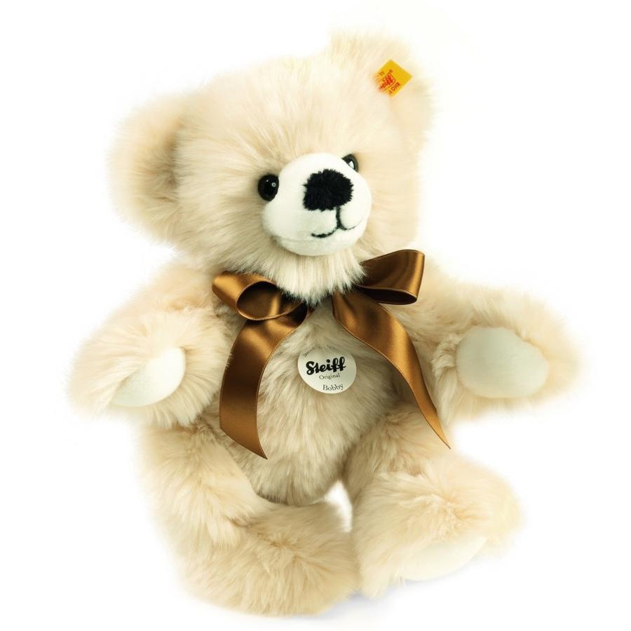 STEIFF Dangle Teddy Bear Bobby 30cm, creamy