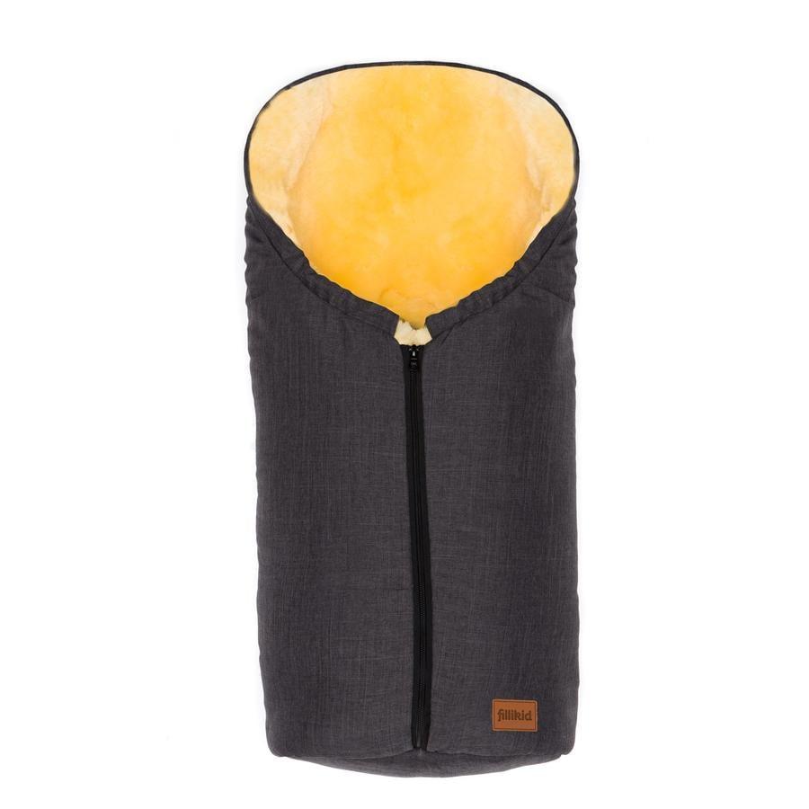 Fillikid Vinterkørepose Elbrus Gr. 0 melange grå