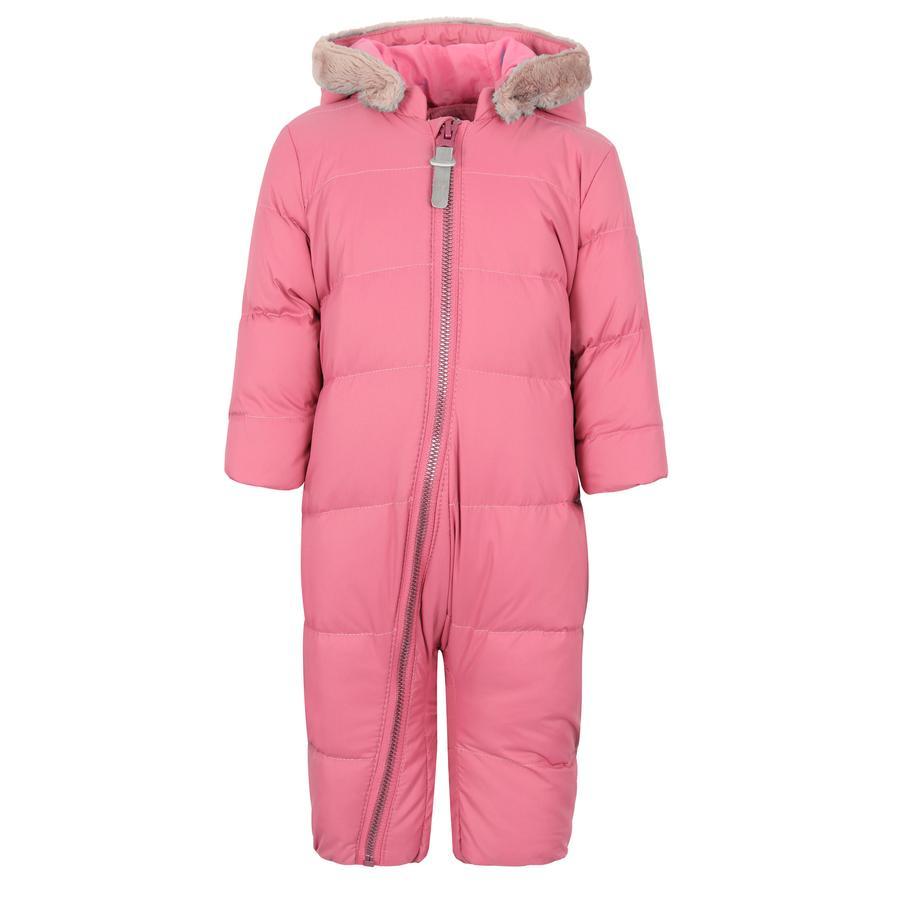 TICKET TO HEAVEN Mono de plumas Emilia con capucha desmontable, rosa