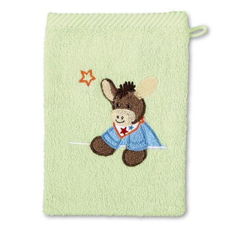 STERNTALER Tvätthandske Åsnan Emmi grön