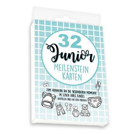 skorpion Meilensteinkarten Set Junior, bunt