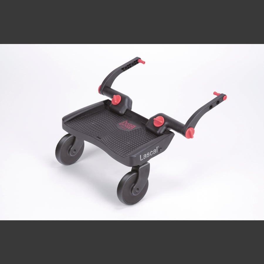 Lascal Planche à roulettes de poussette BuggyBoard Mini 3D, rouge